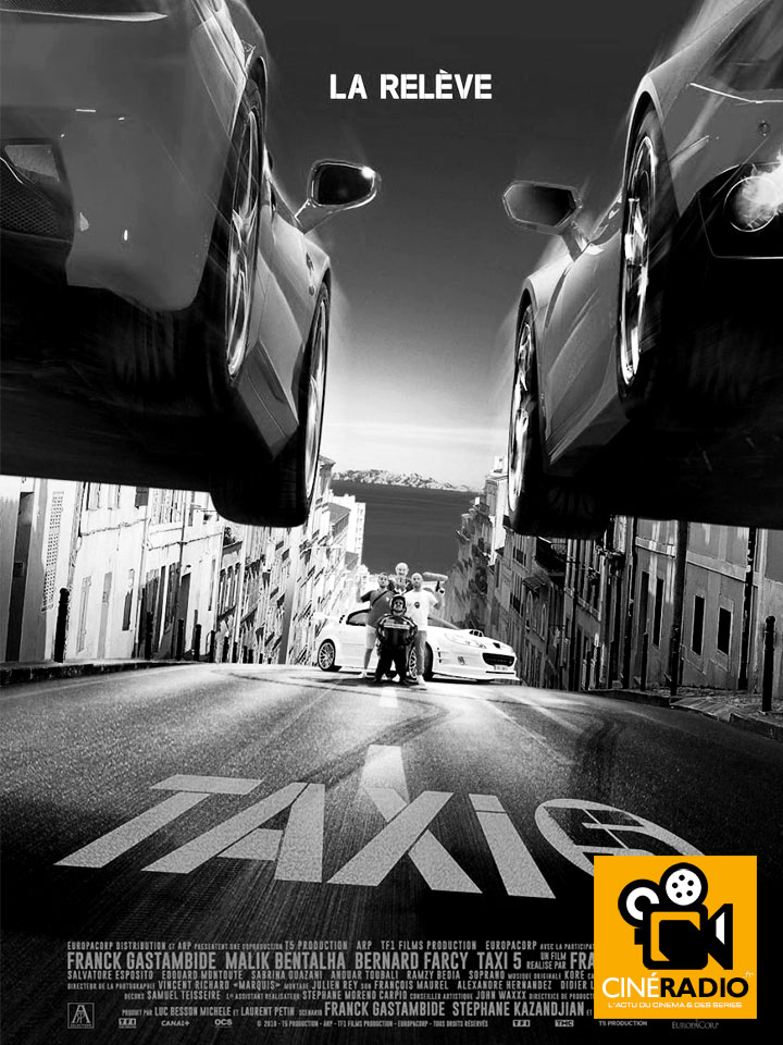 taxi 5 l 39 affiche officielle et un premier extrait de la bande originale. Black Bedroom Furniture Sets. Home Design Ideas