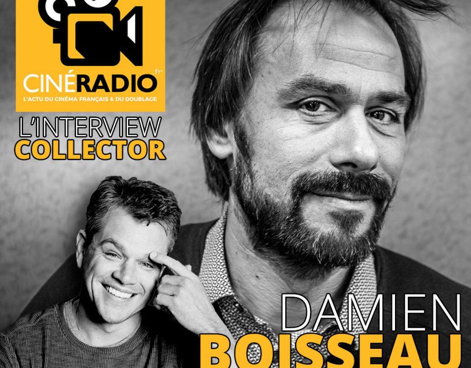 Damien Boisseau - Voix de Matta Damon (Ciné Radio)